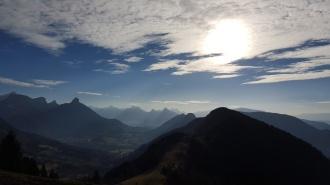 Mt Parmelan above Annecy
