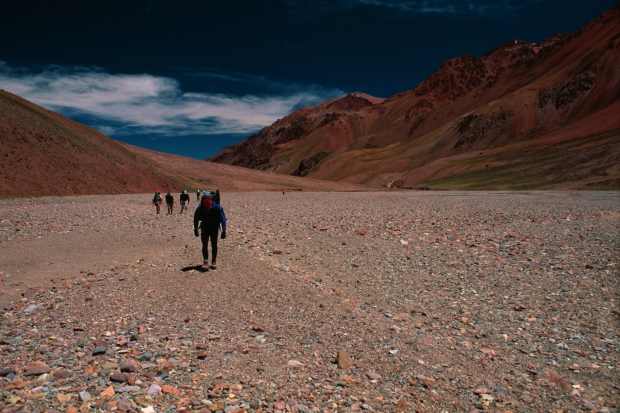 The_trek_in_to_aconcagua